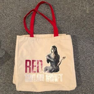 """Taylor Swift """"RED"""" tote bag"""